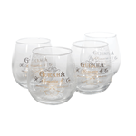 Gurkha Whisky Glass Set  Set of 4