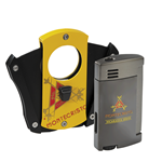 Montecristo Deception Cutter & Amigo Lighter Combo  Cigar Accessory Sampler