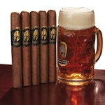 Man O' War & Mug Combo  5 Cigars