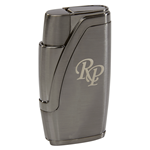 Rocky Patel ICON Dual Flame Lighter  Gun Metal