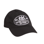 Thompson Logo Hat  Black