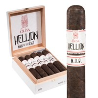 "Hellion By Oliva M.O.B. Maduro Gordo (6.0""x66) BOX (10)"