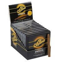 "Al Capone Sweets Natural Mini Cigarillo Cognac 50 Or 100 Count (Cigarillos) (3.5""x20) PACK (100)"