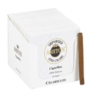 "Ashton Classic Cigarillo Natural (Cigarillos) (4.0""x28) PACK (100)"
