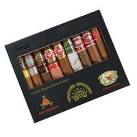 Iconic Montecristo, Romeo y Julieta, And H Upmann 9 Cigar Sampler  BOX (9)