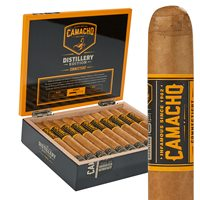 Camacho Distillery Edition Connecticut Toro Cigars