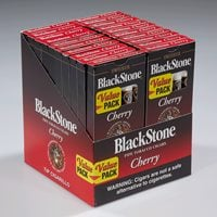 "Blackstone Tip Natural Cigarillo Cherry (Cigarillos) (5.0""x28) PACK (100)"