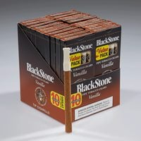 "Blackstone Tip Natural Cigarillo Vanilla (Cigarillos) (5.0""x30) PACK (100)"