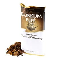 Borkum Riff Pipe Tobacco Bourbon Whiskey  1.5 Ounce Pouch
