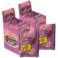 "Backwoods Cigarillo Maduro Honey Berry 2-Fer (Cigarillos) (4.5""x32) PACK (80)"