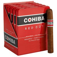 "Cohiba Red Dot Pequenos Cameroon (Cigarillos) (4.2""x34) PACK (30)"