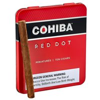 Cohiba Red Dot Miniatures Cameroon Pack of 10 Cigars