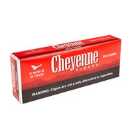 "Cheyenne Filtered Natural Wild Cherry (Cigarillos) (3.8""x20) BOX (200)"