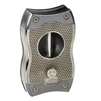 Colibri V-Cut Two-In-One Cigar Cutter Gunmetal  Gun Metal
