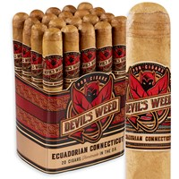 "Devil's Weed Toro Connecticut (6.0""x50) PACK (20)"