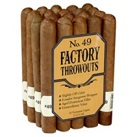 "Factory Throwouts No. 49 Sun Grown Robusto (5.5""x49) PACK (20)"