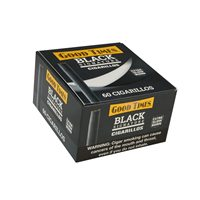 "Good Times Black Signature Natural Mini Cigarillo (Cigarillos) (4.2""x27) BOX (60)"