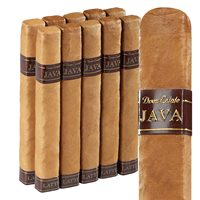 "Java By Drew Estate Latte Short Robusto Connecticut Infused 10 Pack (5.5""x50) PACK (10)"