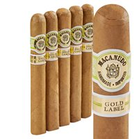 "Macanudo Gold Label Lord Nelson Churchill Connecticut (7.0""x49) PACK (5)"