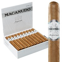 "Macanudo Inspirado White Toro Connecticut (6.5""x50) BOX (20)"