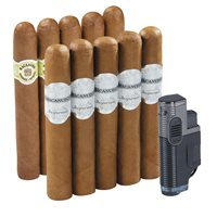 Macanudo 10 Cigar & Lighter Combo  10 Cigars
