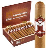 "M Bourbon by Macanudo Robusto Connecticut (5.0""x50) BOX (20)"