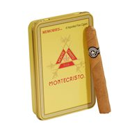 "Montecristo Memories Cigarillos Natural (4.0""x33) PACK (6)"