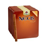 "Neos Cappuccino Natural Mini Cigarillo (Cigarillos) (3.5""x20) PACK (100)"