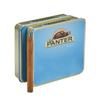 "Agio Panther Blue Natural Mini Cigarillo 40 Count (Cigarillos) (3.0""x21) PACK (40)"