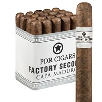 "PDR Seconds Robusto Maduro (5.0""x50) PACK (20)"