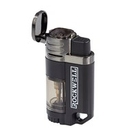 Rockwell Quad Torch Lighter  Gun Metal