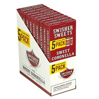 "Swisher Sweets Coronella Natural Petite Corona Sweet (Cigarillos) (5.0""x20) PACK (50)"