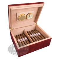 Classic Cherrywood With Tube Natural Combo Cigar Accessory Samplers