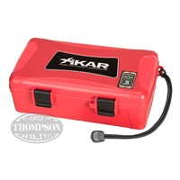 Xikar Red 10ct Travel Humidor Travel Cases