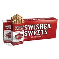 Swisher Sweets Little Cigars 2-Fer Natural Filtered Cigarillo Regular