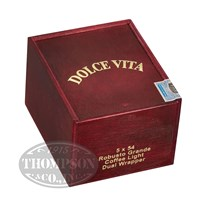 Dolce Vita Cafe Edition Barber Pole Robusto Grande Coffee Light Cigars