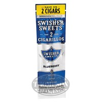 Swisher Sweets Blueberry Natural Cigarillo