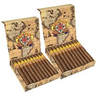"Thompson Explorer 2-Fer Habano Lonsdale (6.5""x44) BOX (40)"