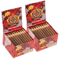 "Thompson Explorer Flavors 2-Fer Natural Cigarillo Sweet (Cigarillos) (4.5""x30) BOX (120)"