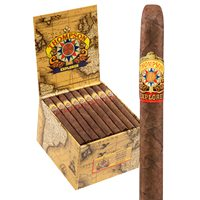 "Thompson Explorer Flavors Panatela Natural (Lancero/Panatela) (5.0""x35) BOX (48)"