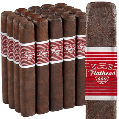 CAO Flathead V660 Carb Pack of 20 - Thompson Cigar