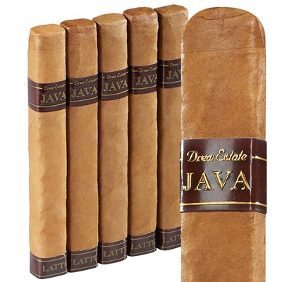 Java By Drew Estate Latte Robusto Connecticut Cigars
