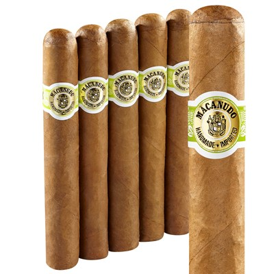 "Macanudo Cafe Hyde Park Connecticut Robusto 5''X49 (5.5""x49) PACK (5)"