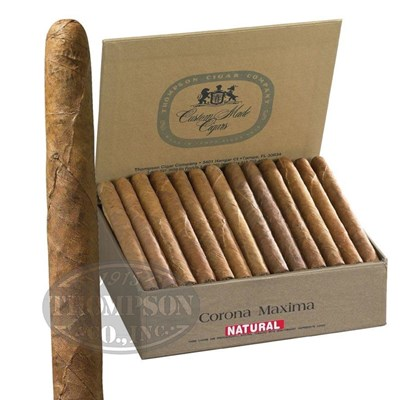 Thompson Dominican Corona Maxima Natural Lonsdale Grande Cigars
