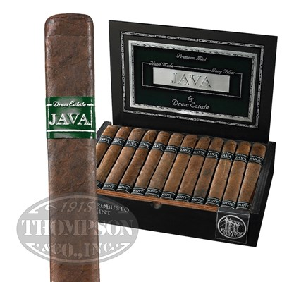 Java By Drew Estate Mint Short Robusto Maduro Cigars