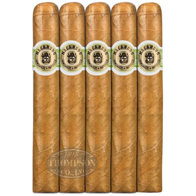 Macanudo Cafe Hyde Park Connecticut Robusto 5 Pack Cigars