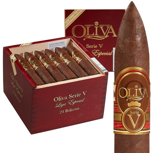 "Oliva Serie V Belicoso Sun Grown (5.0""x54) BOX (24)"
