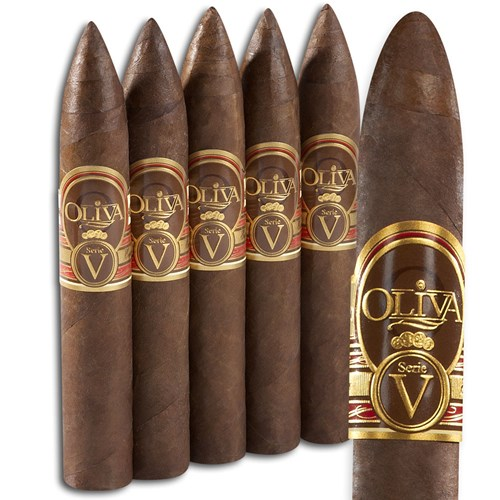 "Oliva Serie V Belicoso Sun Grown (5.0""x54) PACK (5)"