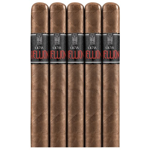 "Hellion By Oliva Robusto Habano (5.0""x54) PACK (5)"