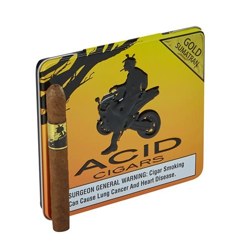 "Acid Krush Classics Gold Sumatra (Cigarillos) (4.0""x32) PACK (10)"